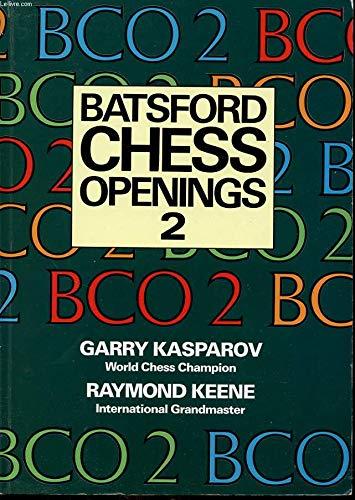 9780713460995: BCO2 Batsford Chess Openings 2 (No. 2)