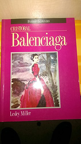 9780713466768: Cristobal Balenciaga (Fashion Designers)