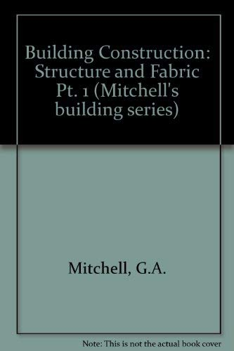 9780713468434: Structure and Fabric Part 1