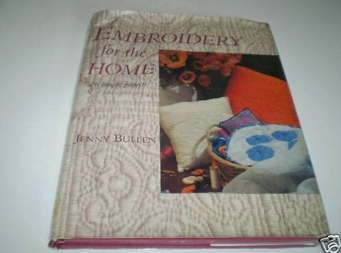 9780713471076: Embroidery for the Home