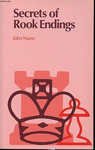 Secrets of Rook Endings (9780713471649) by Nunn, John