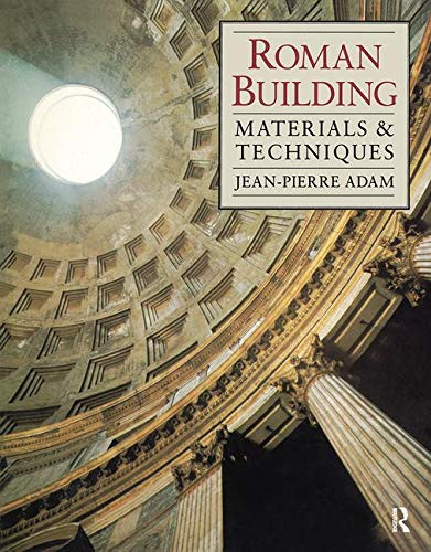 9780713471670: Roman Building: Materials and Techniques