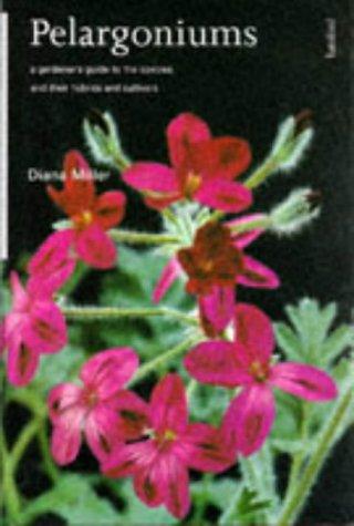 9780713472837: Pelargoniums a Gardeners Guide to the Sp