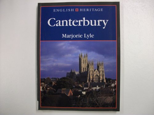 Book of Canterbury (English Heritage): Lyle, Marjorie