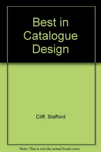 The Best in Catalogue Design: Cliff, Stafford