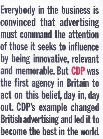 9780713484038: CDP : Home of British Advertising