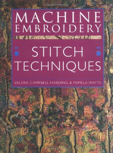 9780713486018: Machine Embroidery Stitch Techniques