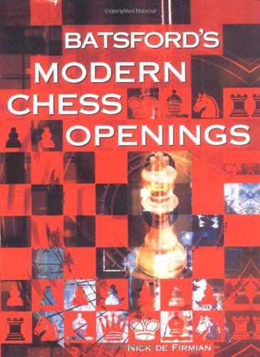 9780713486568: Batsford's Modern Chess Openings (Batsford Chess Book)