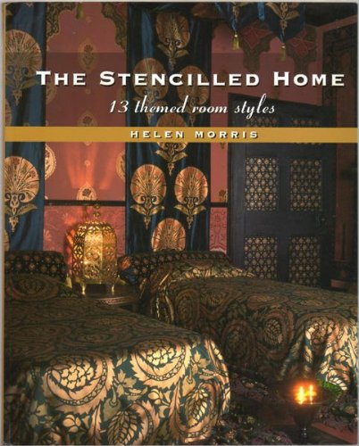 9780713487183: The Stencilled Home: 13 Themed Room Styles