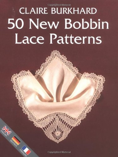 9780713488166: 50 NEW BOBBIN LACE PATTERNS
