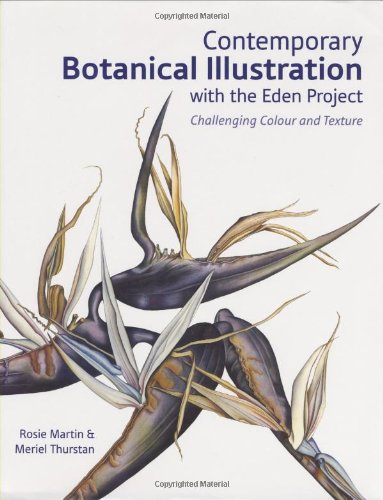 9780713490787: Contemporary Botanical Illustration with the Eden Project: Challenging Colour and Texture