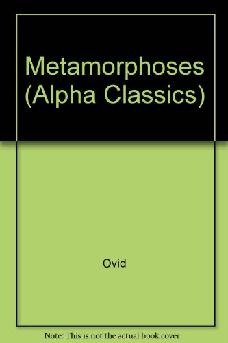 9780713500431: Metamorphoses