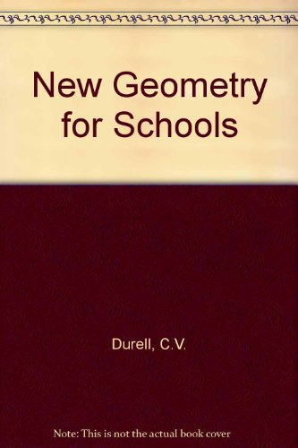 9780713503388: New Geometry for Schools