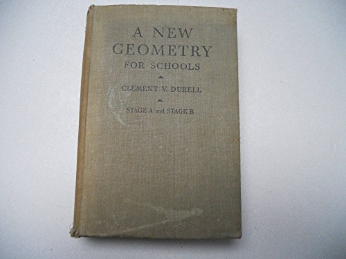 9780713503395: New Geometry for Schools