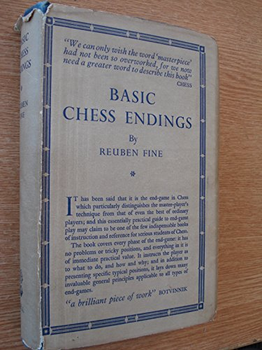 9780713504552: Basic Chess Endings