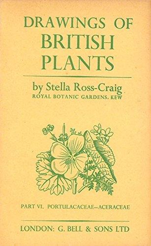 9780713509045: Drawings of British Plants, Part 6: Portulacaceae-Aceraceae