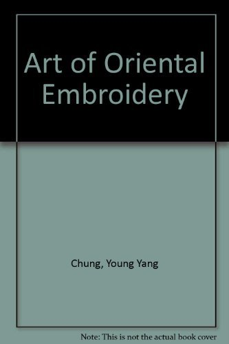 9780713512052: Art of Oriental Embroidery