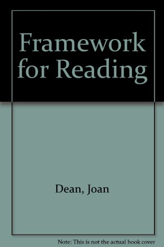 Framework for Reading: Joan Dean, Ruth Nichols