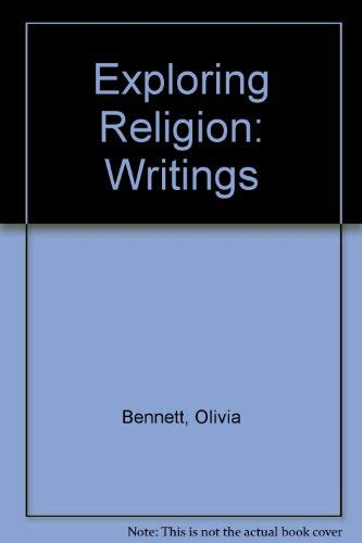 9780713515039: Exploring Religion: Writings