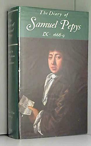 9780713515596: The Diary of Samuel Pepys, Vol. 9: 1668-1669