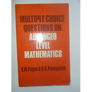 9780713519273: Multiple Choice Questions on Advanced Level Mathematics