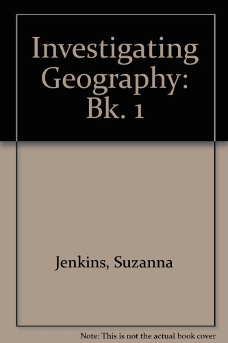 Investigating Geography: Bk. 1: Jenkins, Suzanna and