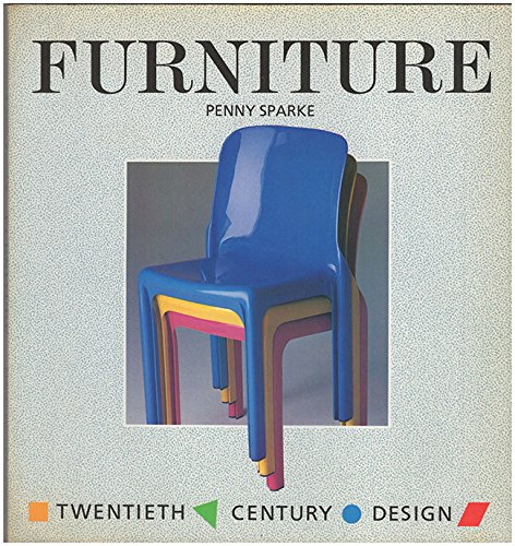 9780713526332: Furniture (20th Century Design S.)