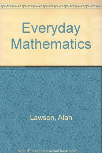 9780713526356: Everyday Mathematics