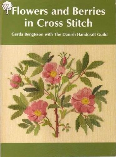 9780713527179: Flowers and Berries in Cross-stitch