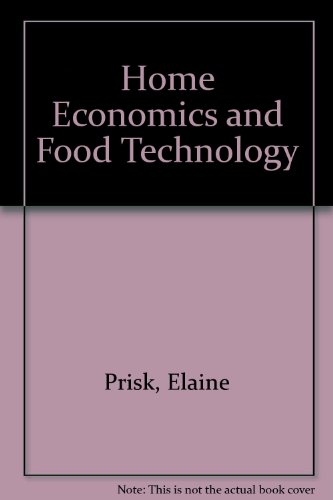 9780713528152: Home Economics and Food Technology
