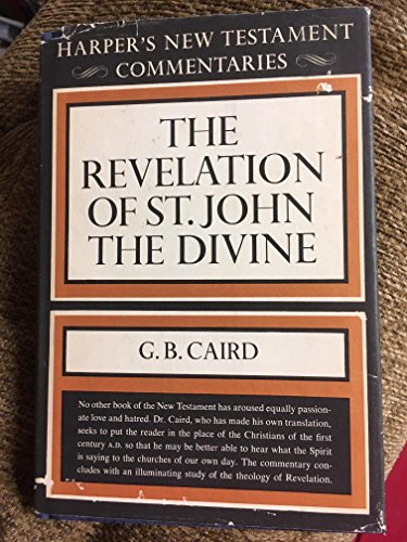 9780713600315: A commentary on the Revelation of St. John the Divine [Harper's New Testament Commetaries]