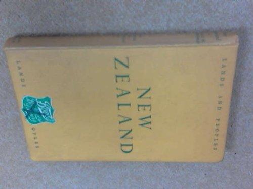 New Zealand (0713600829) by R.W. & BURCHFIELD, E.M. BURCHFIELD