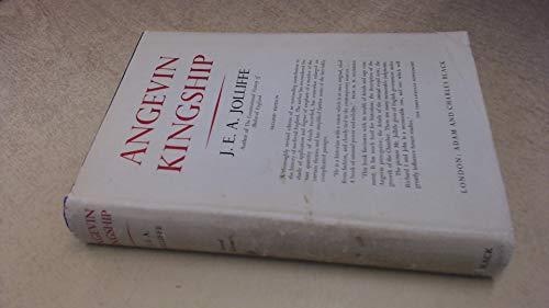 Angevin Kingship: Jolliffe, J.E.A.