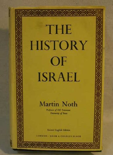 9780713605877: History of Israel