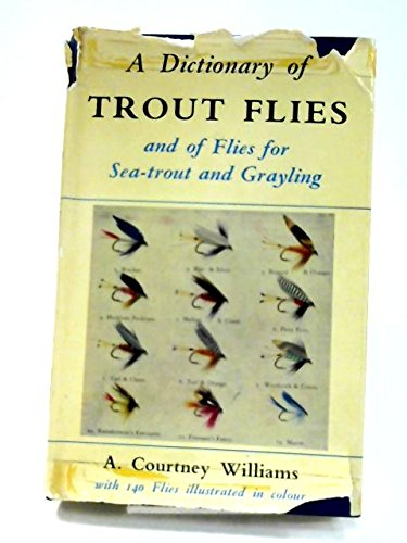 9780713608427: Dictionary of Trout Flies