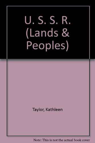 9780713609233: The Lands and Peoples of the USSR