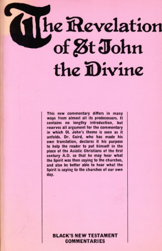 9780713609967: A Commentary on the Revelation of St. John the Divine