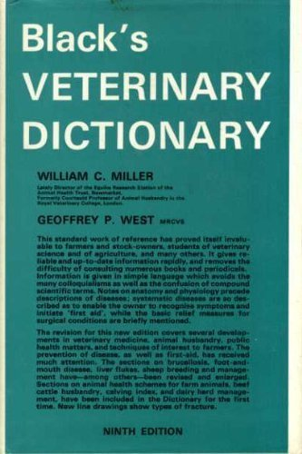 9780713611076: Black's Veterinary Dictionary
