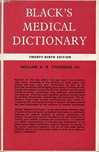 9780713611786: Black''s Medical Dictionary