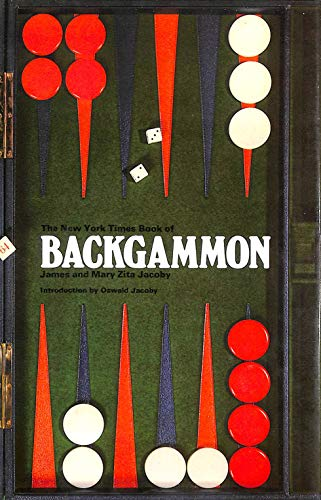 New York Times Book of Backgammon: Mary Zita Jacoby, James Jacoby