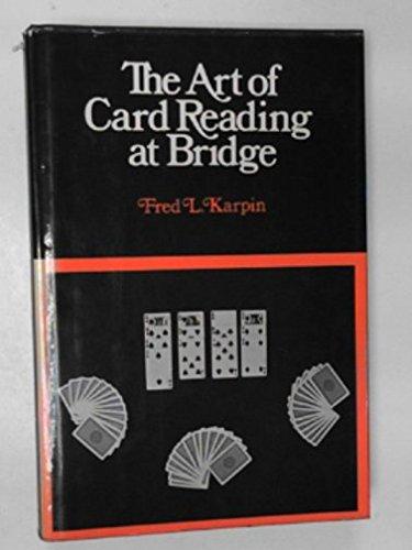 9780713615708: Art of Card Reading at Bridge