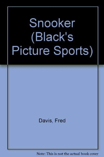 9780713617405: Snooker (Black's Picture Sports)