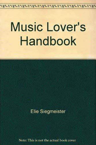 9780713620030: Music Lover's Handbook