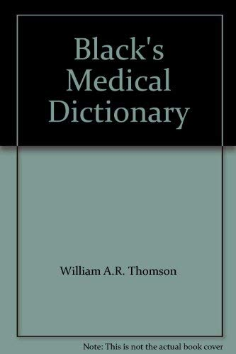 9780713621280: Black's Medical Dictionary