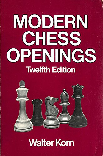 9780713621990: Modern Chess Openings Twelfth Edition