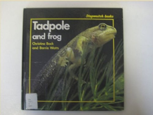 9780713624267: Tadpole and Frog (Stopwatch Books)