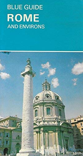 9780713626155: Rome and Environs (Blue Guides)