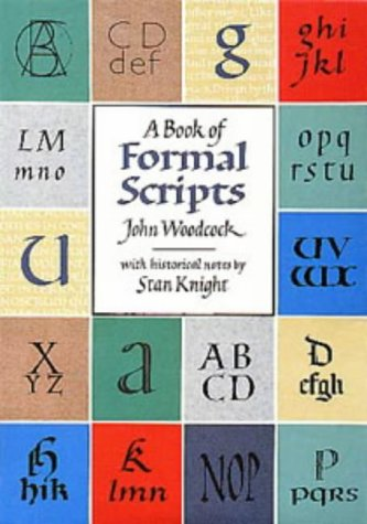 9780713632453: A Book of Formal Scripts (Calligraphy)