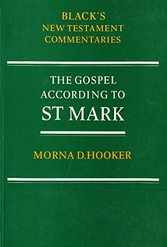 9780713632842: Gospel According to St.Mark (Black's New Testament Commentaries)