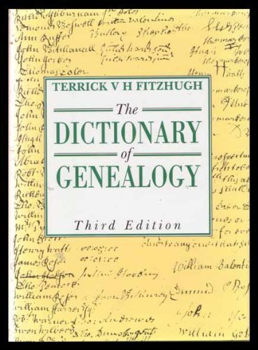 9780713633481: The Dictionary of Genealogy